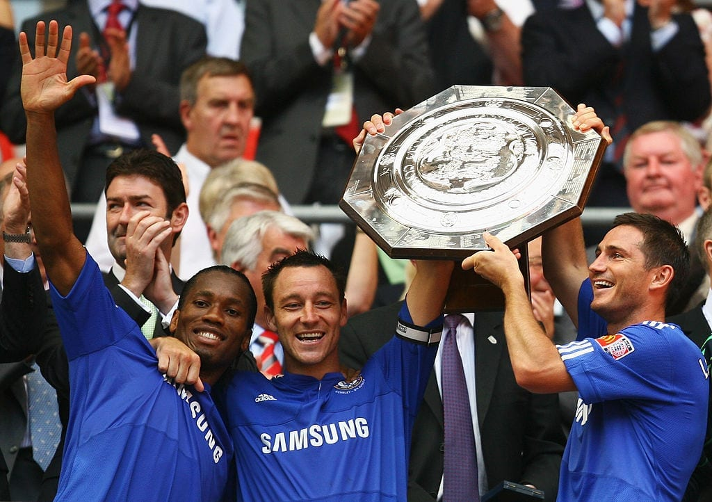 Didier Drogba, John Terry, Frank Lampard, Chelsea